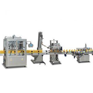 Mesin automatik mengisi 2 dalam 1 sus304 penuh untuk membuat minyak zaitun