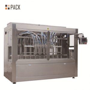 Automatik 8 mengisi muncung cecair / tampal / sos / mesin pengisian madu