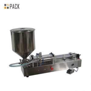 Mesin ais krim yang sangat popular / kepala double mengisi mesin / kuku pengisi kuku